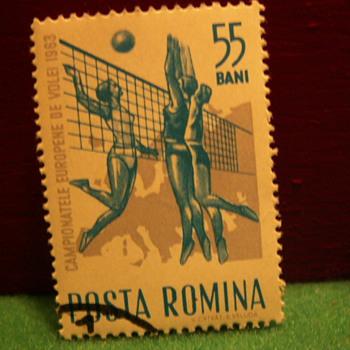1963 Romina (Romania) 55 Bani Stamp