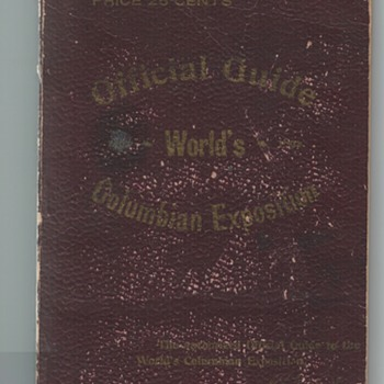 Official Guide to the World's Columbian Exposition 1893