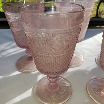 Pink Depression Glass - Glassware