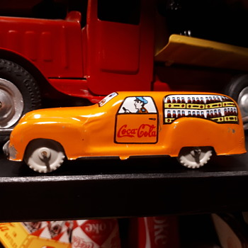 Coca Cola toy vehicle collection  - Coca-Cola