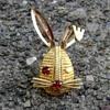 Sarah Coventry winking bunny - Hostess Award