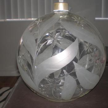 PERFUME BOTTLE CZECHOSLOVAKIA - Bottles