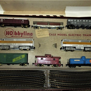 "Hobbyline train set #466 "" The Frontiersman""  - Model Trains"