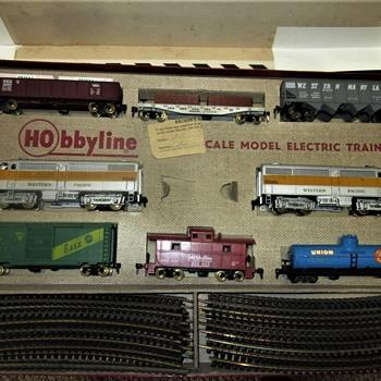 "Hobbyline train set #466 "" The Frontiersman""  - Model Trains"
