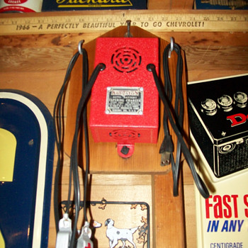 Vintage battery chargers - Petroliana