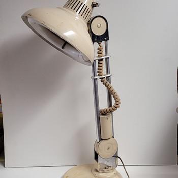 1950s Amplex Trombolite Telescoping Swivel Lamp - Lamps