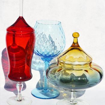 Mid-century Empoli glass - Art Glass