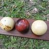 Ivory billiard balls