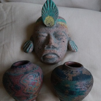 african/mexican/peruvian pottery - Pottery