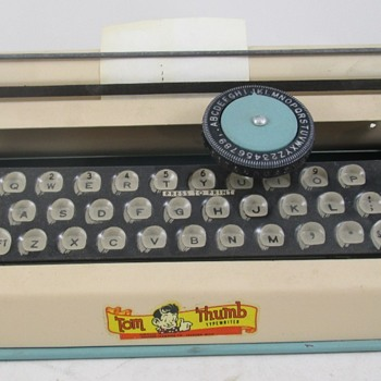 Tom Thumb Junior Typewriter  - Toys