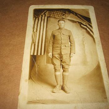 Grandfather's World War 1 Photo - Postcards