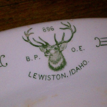 Elks Platter - China and Dinnerware