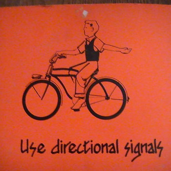 Bicycle saftey posters. - Posters and Prints