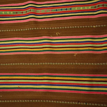 Large Blanket from Guatemala Indians - Rugs and Textiles
