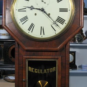 "Welch ""Verdi"" Drop Octagon Wall Clock - Clocks"
