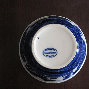 Spode Tower Blue Cranberry?