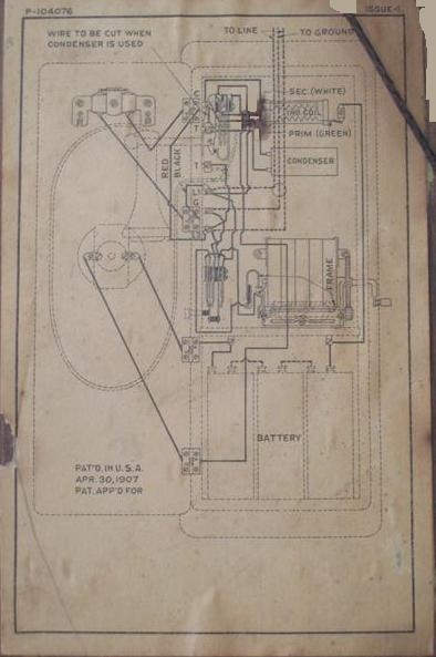 Need Western Electric Wiring diagram | Collectors WeeklyCollectors Weekly