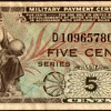 U.S. Military Payment Certificate - Series 481