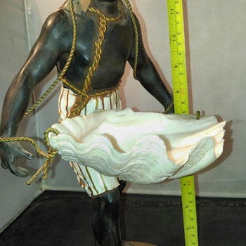 Blackamoor statue - Advertising