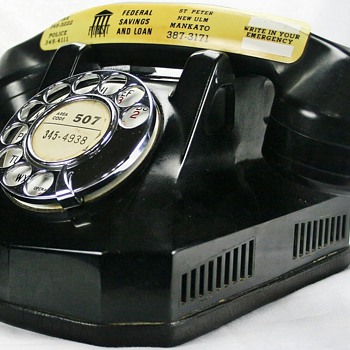 Vintage Bakelite Phone - Telephones