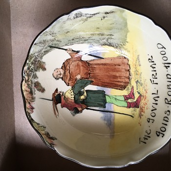 Robin wood series dish by royal doulton. - Pottery