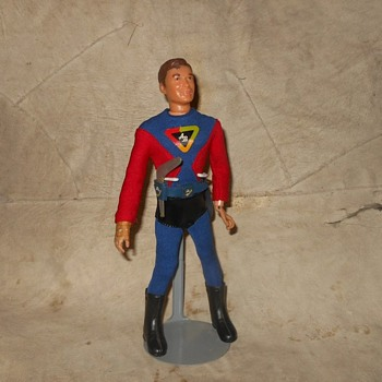 Ideal Captain Action's Youthful Sidekick Action Boy 1967 - Toys
