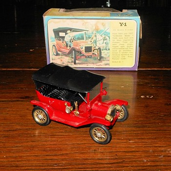Mighty Model T Matchbox Monday Y-1 1911 Model T - Model Cars
