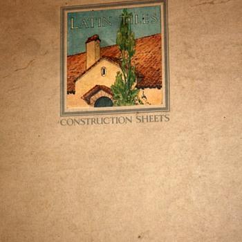 Gladding McBean Tiles Brochure - 1923