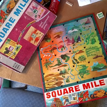 SQUARE MILE from Milton Bradley! - Games