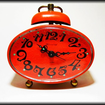 Retro BLESSING CLOCK - WEST GERMANY ( Orange ) - Clocks