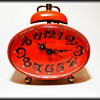 Retro BLESSING CLOCK - WEST GERMANY ( Orange )