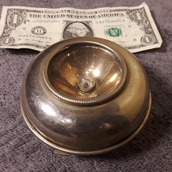 old little oddly 'round' shaped flashlight - Electronics