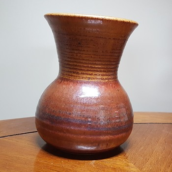 Vase with a great finish