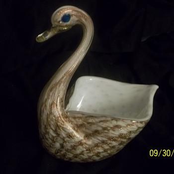 Gravy Boat/Bud Vase?? - Art Glass