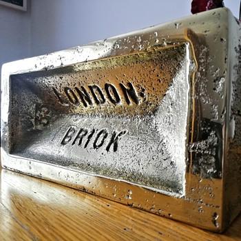 Solid brass London Brick - Fine Art