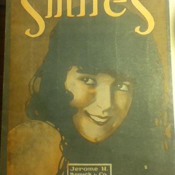 """""""Smiles"""" Songbook  - Music Memorabilia"""