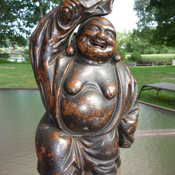 Antique Japanese / Chinese Laughing Buddha, Lohan or Hotei - Asian