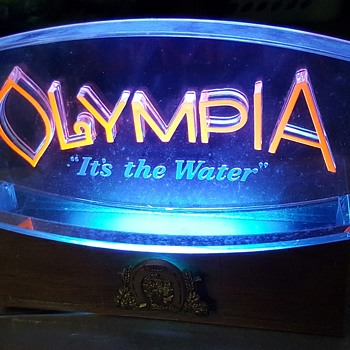 Vintage Olympia Beer Sign