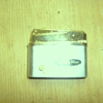 """Gold-plated lighter """"Corty"""" Royal Musical . A Maiden`x Prayer  - Tobacciana"""