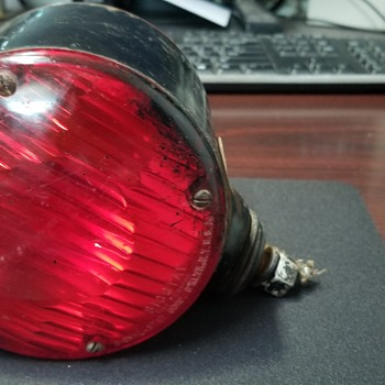 Sigstat red/amber light  - Lamps
