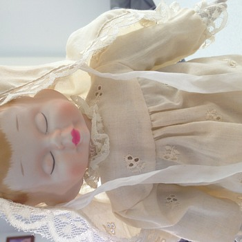 Antique 3 faced doll - Dolls