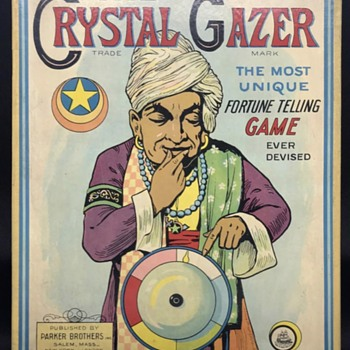 The Crystal Gazer  - Games