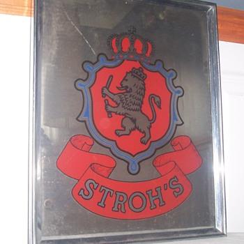 Stroh's Beer - misc - Breweriana