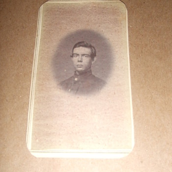 IDd Wisconsin soldier CDV - Photographs