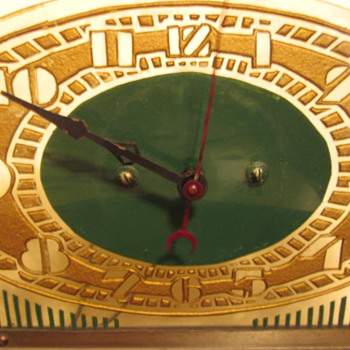 Price Brothers Art Deco Clock - Clocks