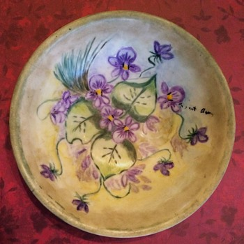 Thanksgiving Thought & Hand Painted China by Me - China and Dinnerware