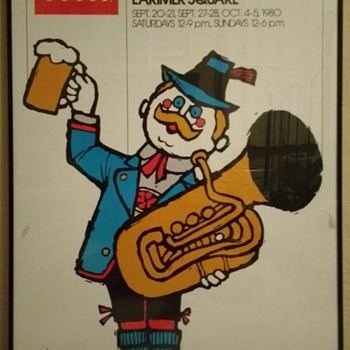 Coors Oktoberfest Beer Poster