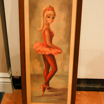 Red Ballet Teen by Maio - Art Nouveau
