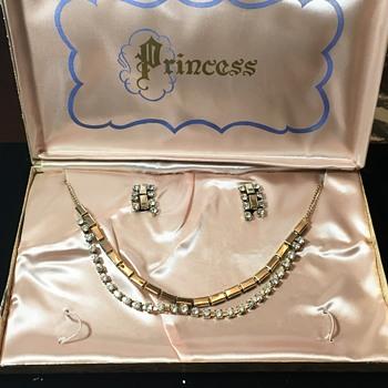 Princess Jewelry Set with Box - Costume Jewelry