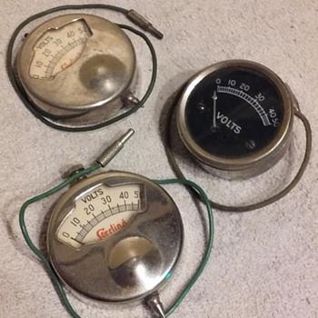 old 'pocket' voltmeter testers - Electronics
